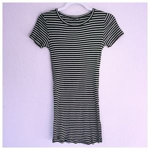 Brandy Melville Striped T Shirt Dress Tunic